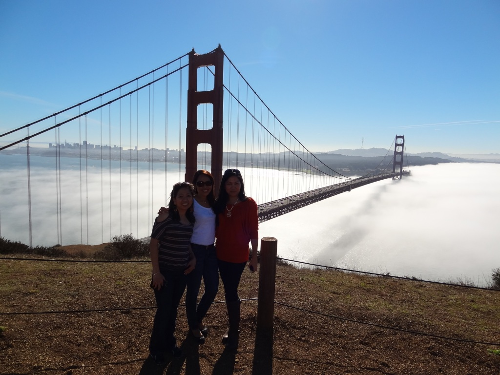 Golden Gate with Jazel and Aileen