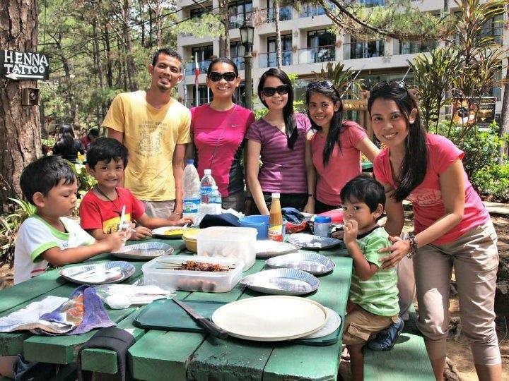 Picnic at Camp John Hay with the Casti family